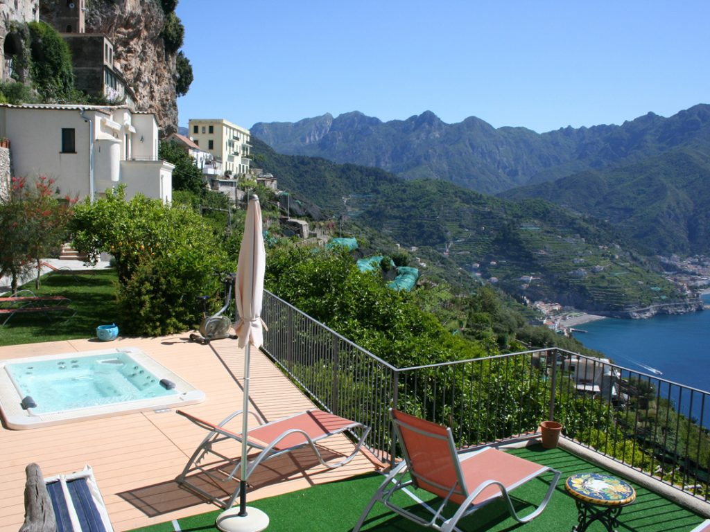 Villa San Cosma Ravello Amalfi Coast Italy Carol Ketelson Delectable Destinations Culinary Tours