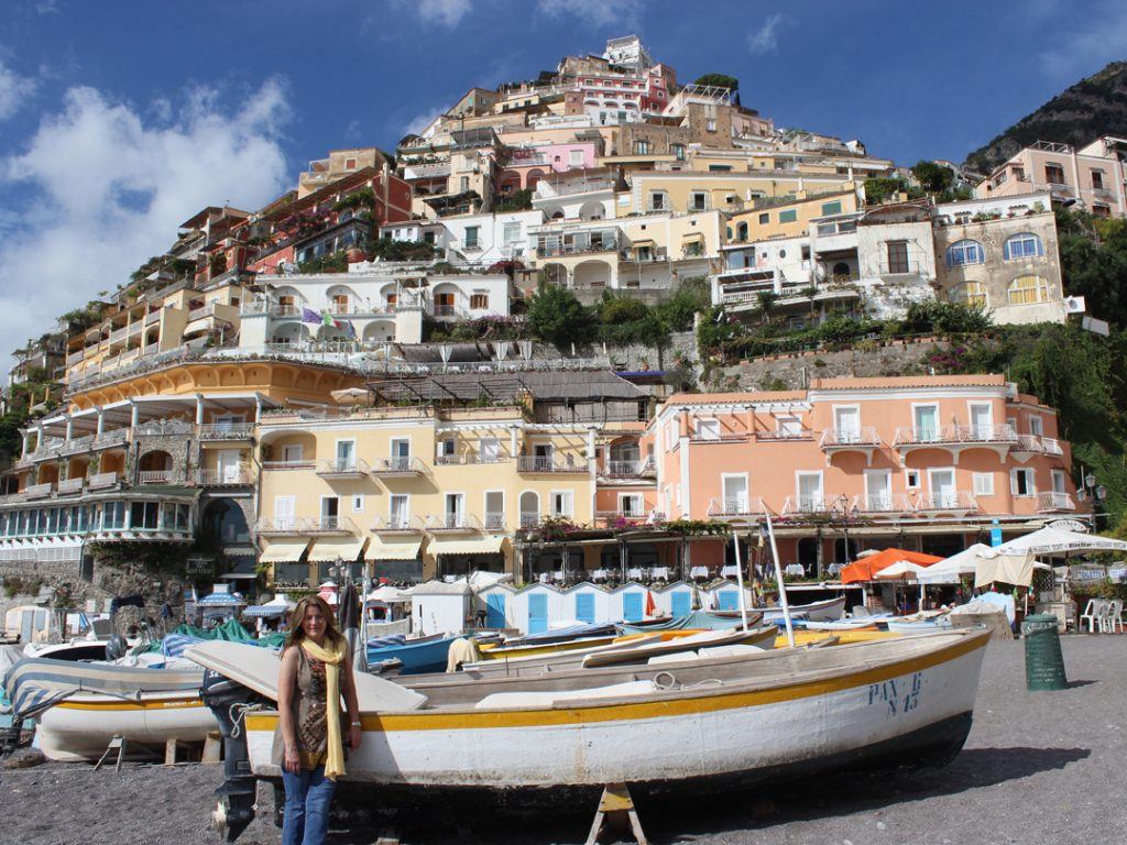 Carol Ketelson Delectable Destinations Culinary Tours in Positano Amalfi Coast Italy