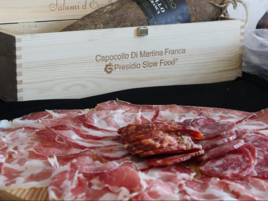 Salumi slow food Puglia Italy Carol Ketelson Delectable Destinations Culinary Tours