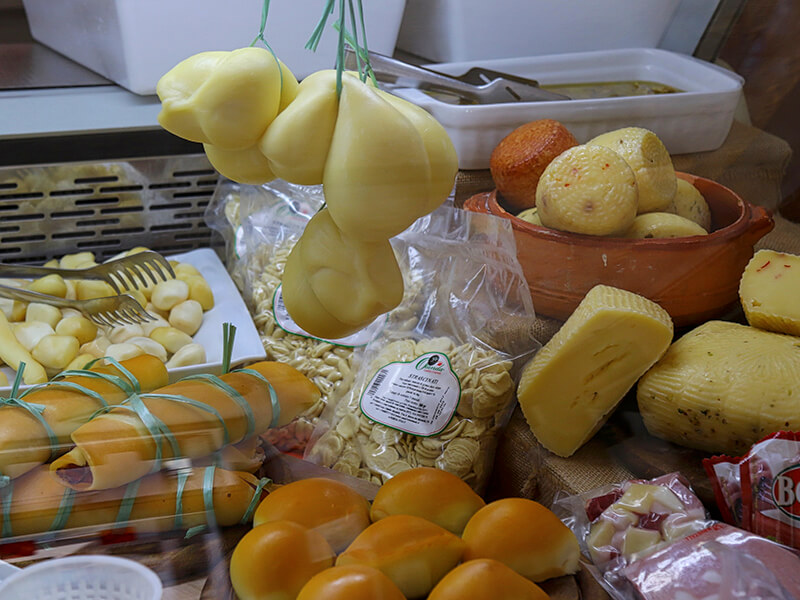 Selection of Cheese in Puglia Italy Carol Ketelson Delectable Destinations Culinary Tours