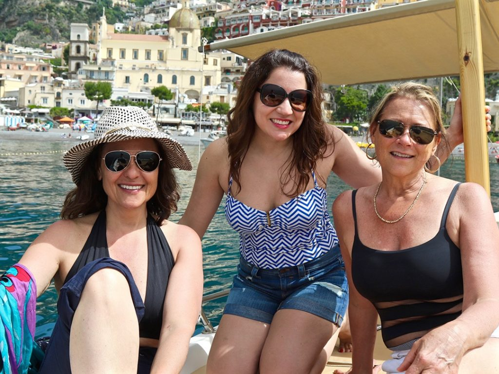 Amalfi Coast Boat Tour Private Charter Carol Ketelson Delectable Destinations Culinary Tours