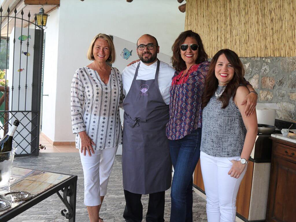 Private Chef Dinner Amalfi Coast Italy Carol Ketelson Delectable Destinations Culinary Tours