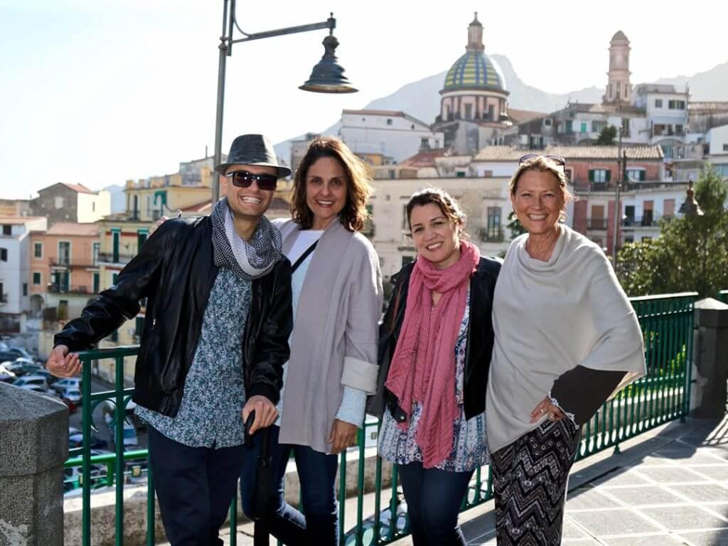 Vietri Sul Mare Amalfi Coast Food and Wine Tours Le Vigne di Riato Carol Ketelson Delectable Destinations Culinary Tours