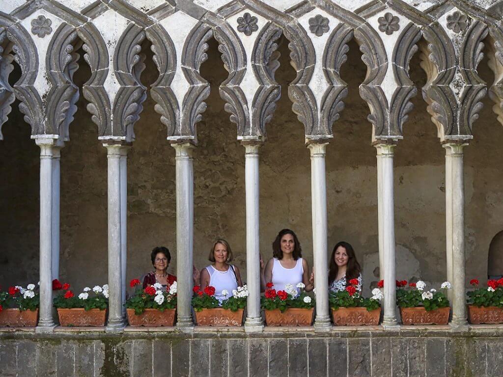 Villa Rufolo Gardens Ravello Amalfi Coast Carol Ketelson Delectable Destinations Culinary Tours