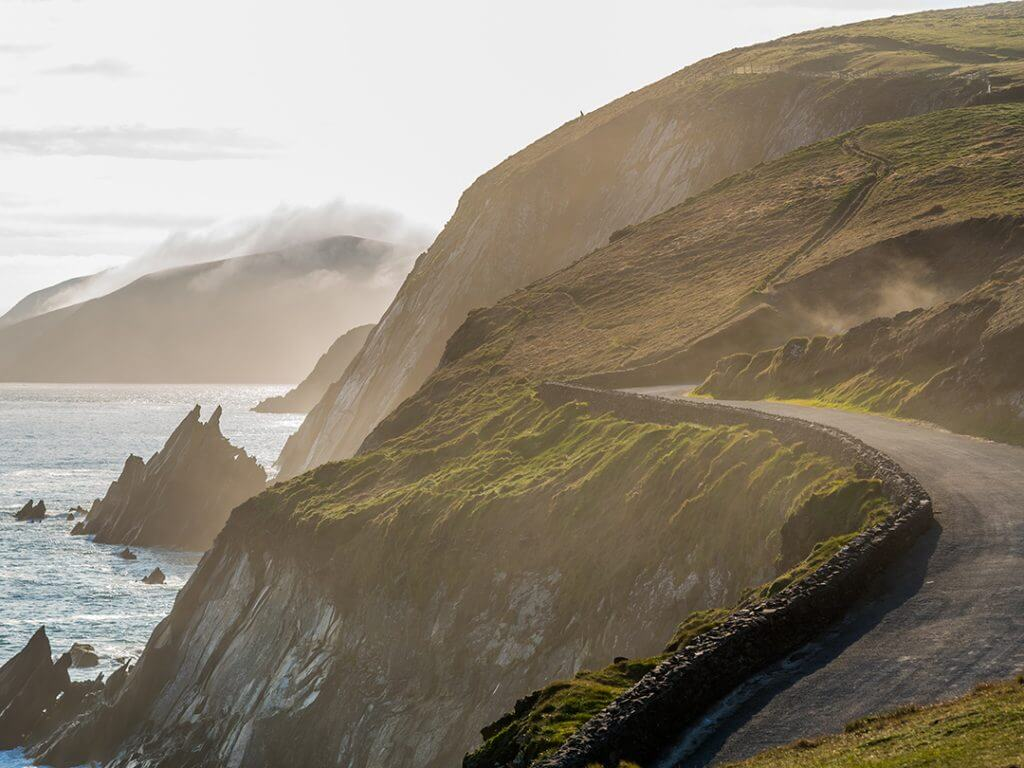 Irish Costal Road Spring Evening Delectable Destinations Culinary Tour of Ireland