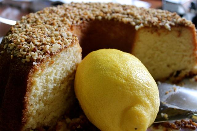 Mamma Agata's famous Italian lemon cake Amalfi Coast DelectableDestinations Carol Ketelson