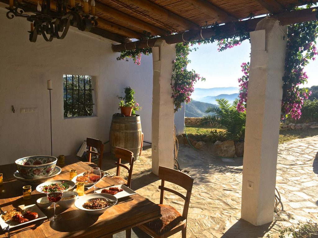 Evening at el Carligto Private Andalucian Hideaway Carol Ketelson Delectable Destinations Culinary Tours