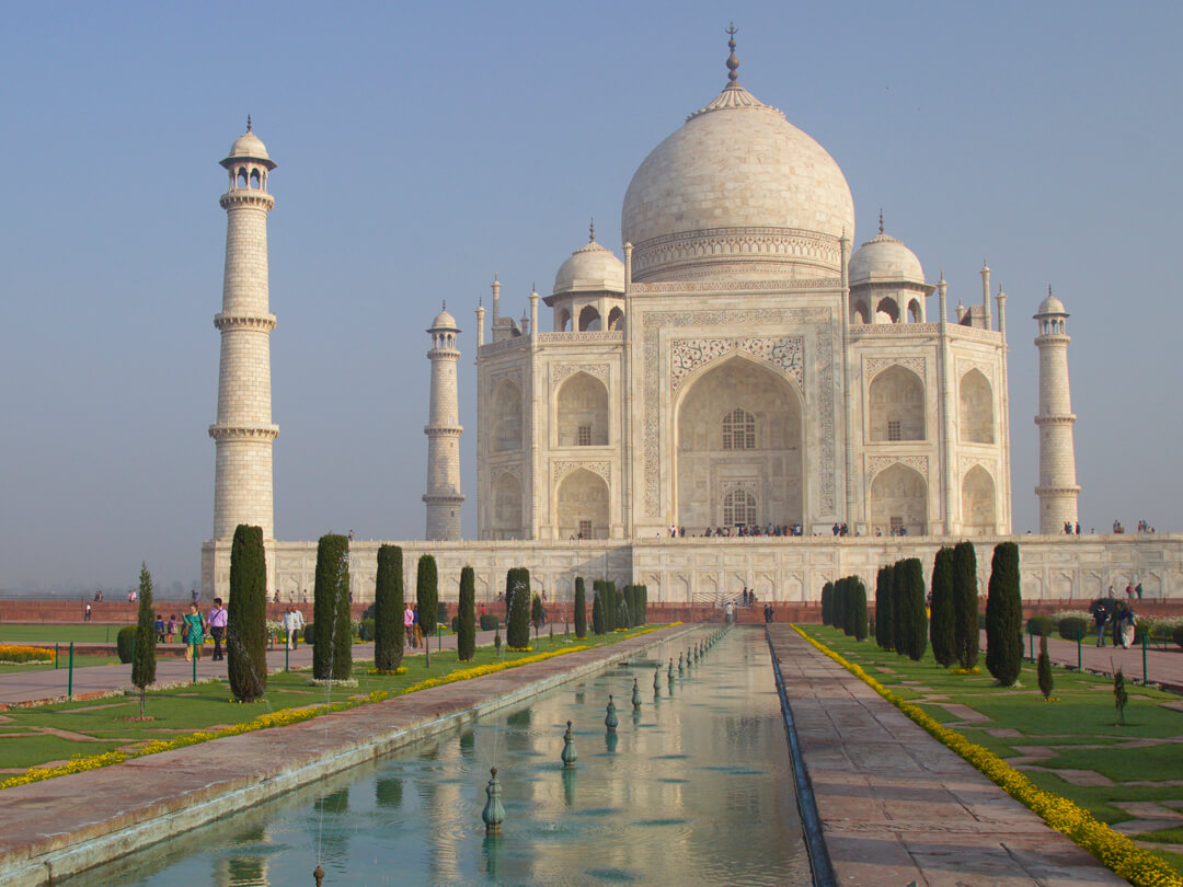 Taj Mahal Agra India - Long flights Jet lag Downside Plane Travel No problem Blog - Carol Ketelson - Delectable Destinations