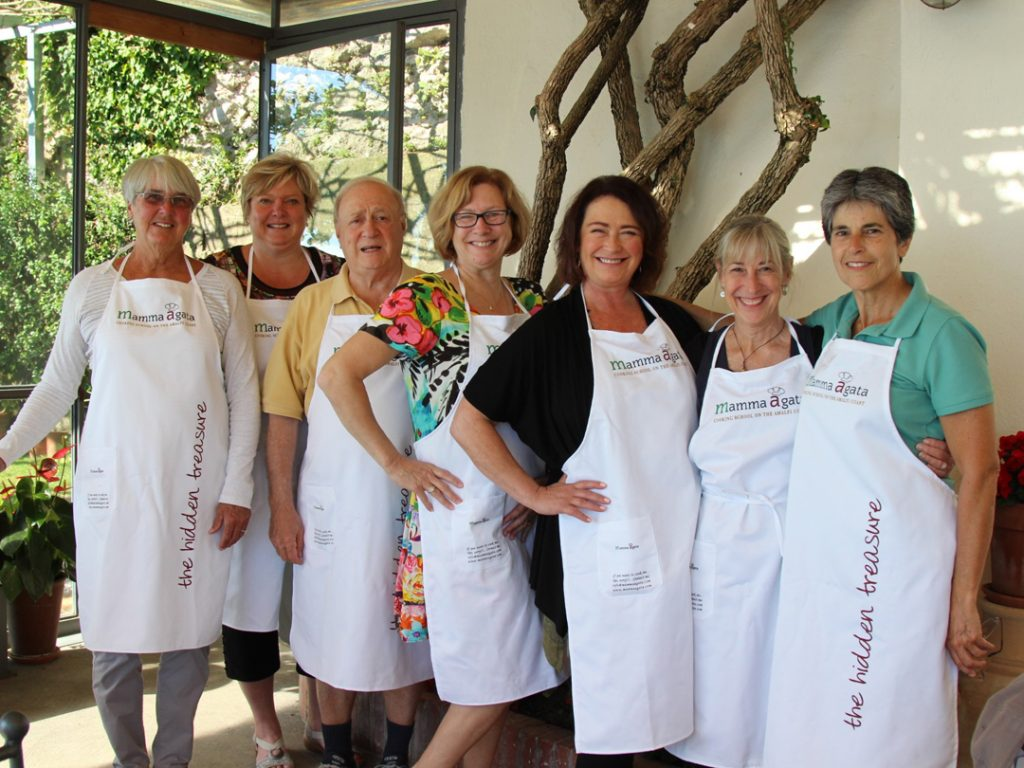 Mamma Agata Cooking School Amalfi Coast Italy Carol Ketelson Delectable Destinations Culinary Tours