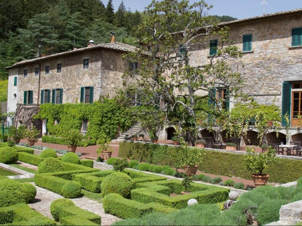 Badia di Coltibuono vinyard Tuscany Italy Carol Ketelson Delectable Destinations Culinary Tours