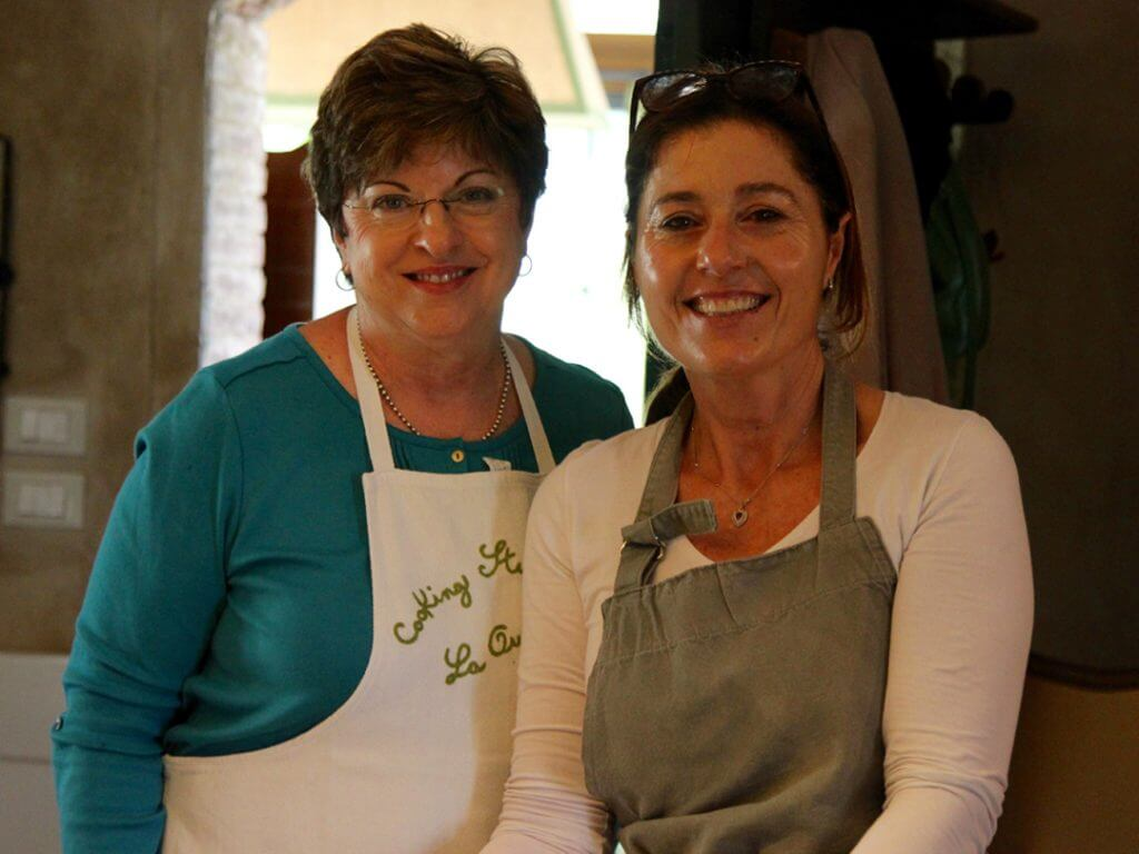 chef Veronica cooking classes Tuscany Italy Carol Ketelson Delectable Destinations Culinary Tours
