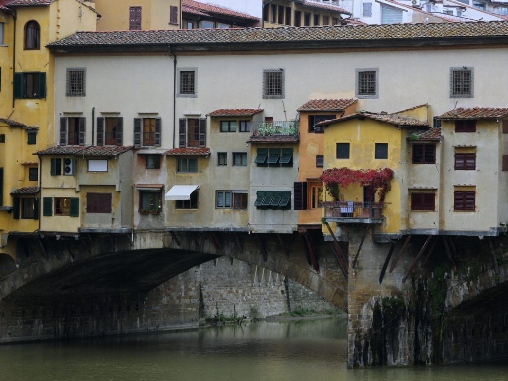 Ponte Vecchio Florence Italy Carol Ketelson Delectable Destinations Culinary Tours