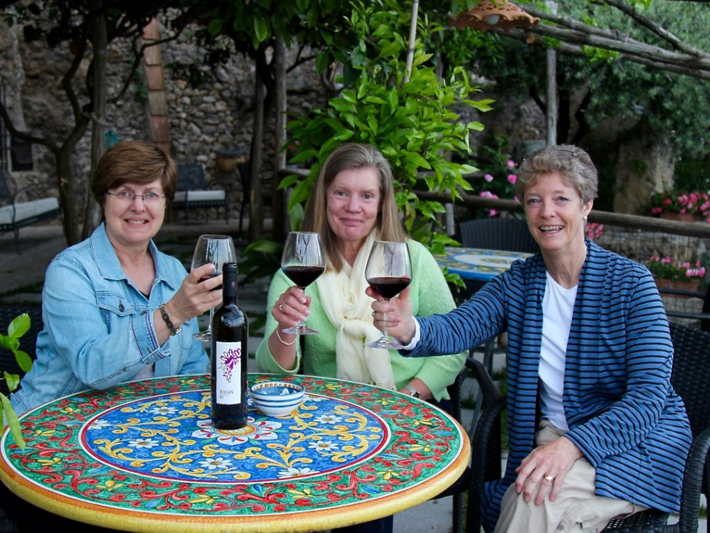 wine tasting on the Amalfi Coast Italy Carol Ketelson Delectable Destinations Culinary Tours