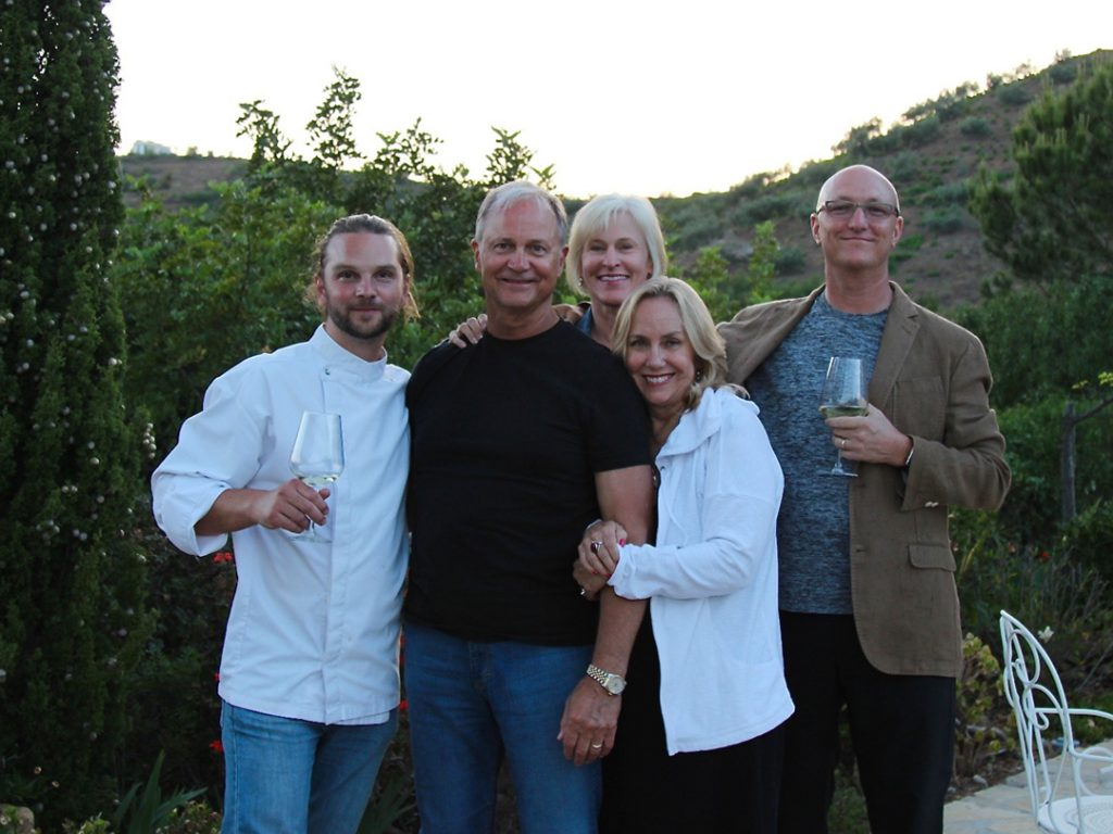 private chef David private chef David fine dining Andalucia Spain Carol Ketelson Delectable Destinations Culinary Tours