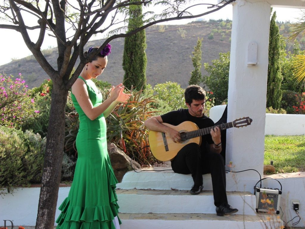 private flamenco dancer Andalucia Spain Carol Ketelson Delectable Destinations Culinary Tours
