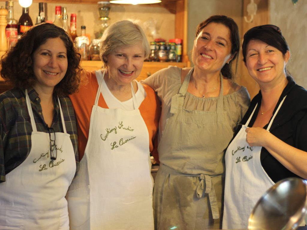 cooking class Villa la Quercia Tuscany Italy Carol Ketelson Delectable Destinations Culinary Tours