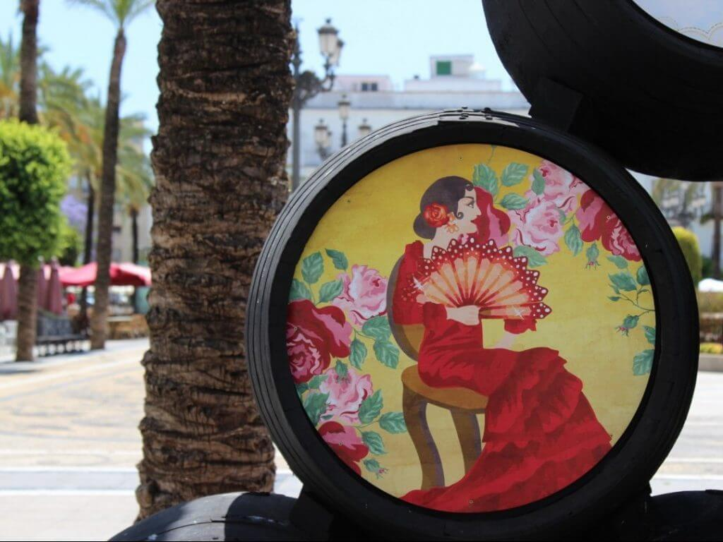 painted barrel Jerez Spain Carol Ketelson Delectable Destinations Culinary Tours