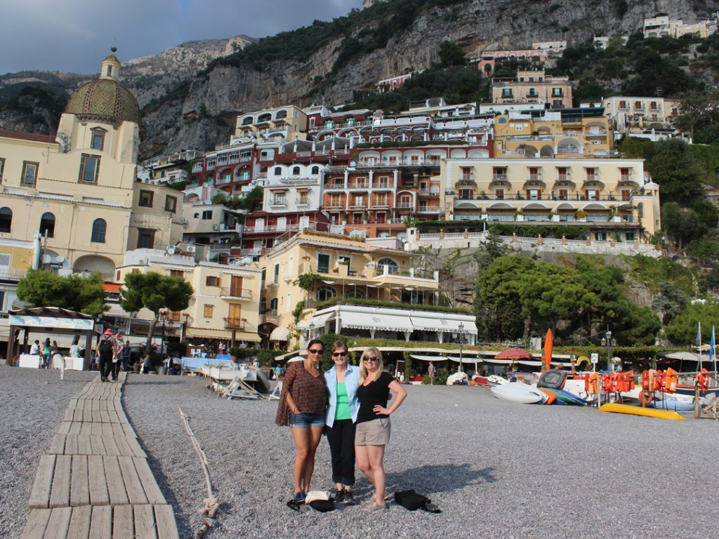 girlfriend getaway Positano Amalfi Coast Italy Carol Ketelson Delectable Destinations Culinary Tours