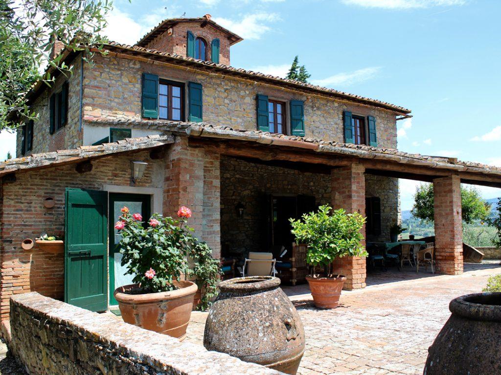 Villa La Quercia Impruneta Tuscany Italy Carol Ketelson Delectable Destinations Culinary Tours