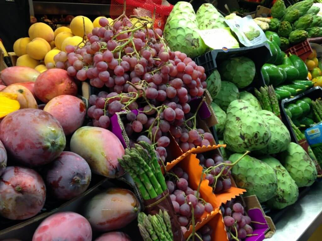 fruit market Malaga Andalucia Spain Carol Ketelson Delectable Destinations Culinary Tours