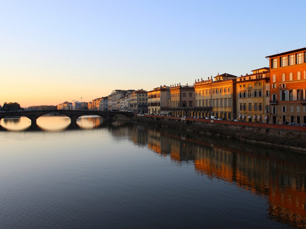 Arno River Florence Italy Carol Ketelson Delectable Destinations Culinary Tours