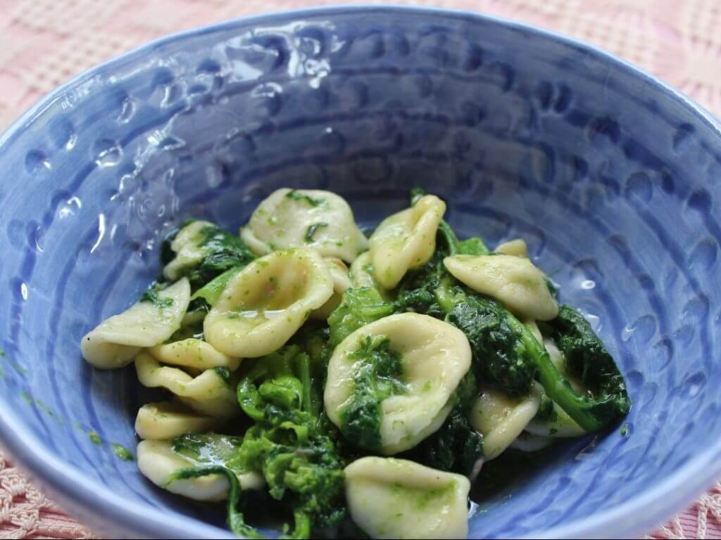 Orecchiette pasta Puglia Italy Carol Ketelson Delectable Destinations Culinary Tours