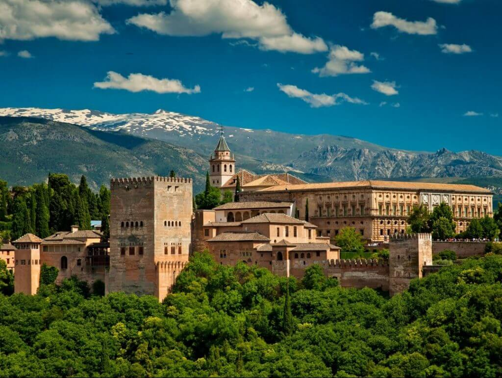 Alhambra of Granada Spain Puglia Italy Carol Ketelson Delectable Destinations Culinary Tours