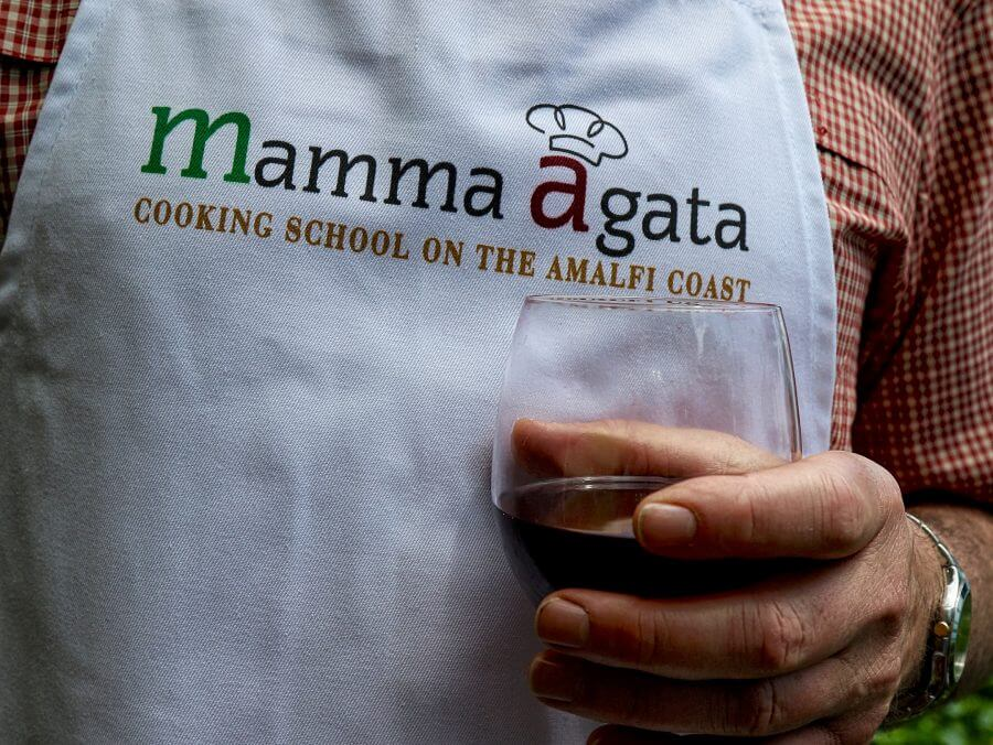 Mamma Agata apron Carol Ketelson Delectable Destinations Culinary Tours