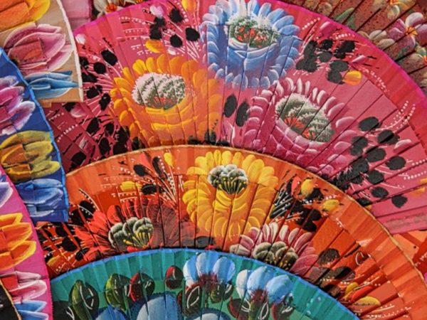Spanish Flamenco Fans Malaga Costa del Sol Spain Carol Ketelson Delectable Destinations Culinary Tours