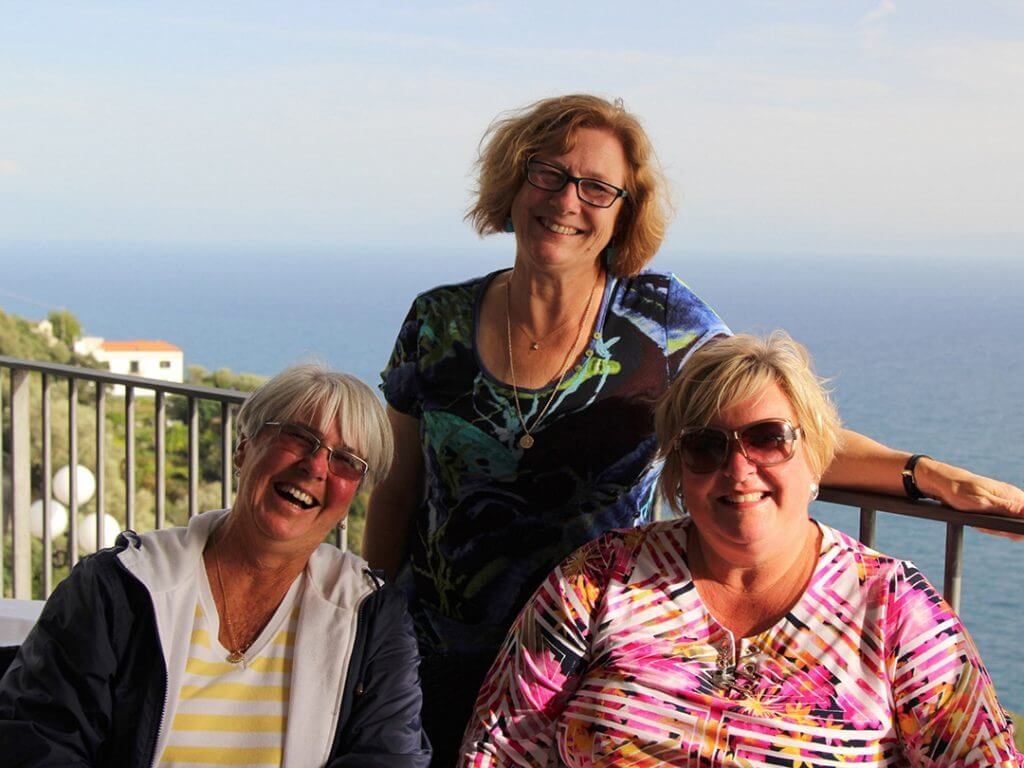 Girlfriend Getaway Women's Retreats Amalfi Coast Italy Carol Ketelson Delectable Destinations Culinary Tours