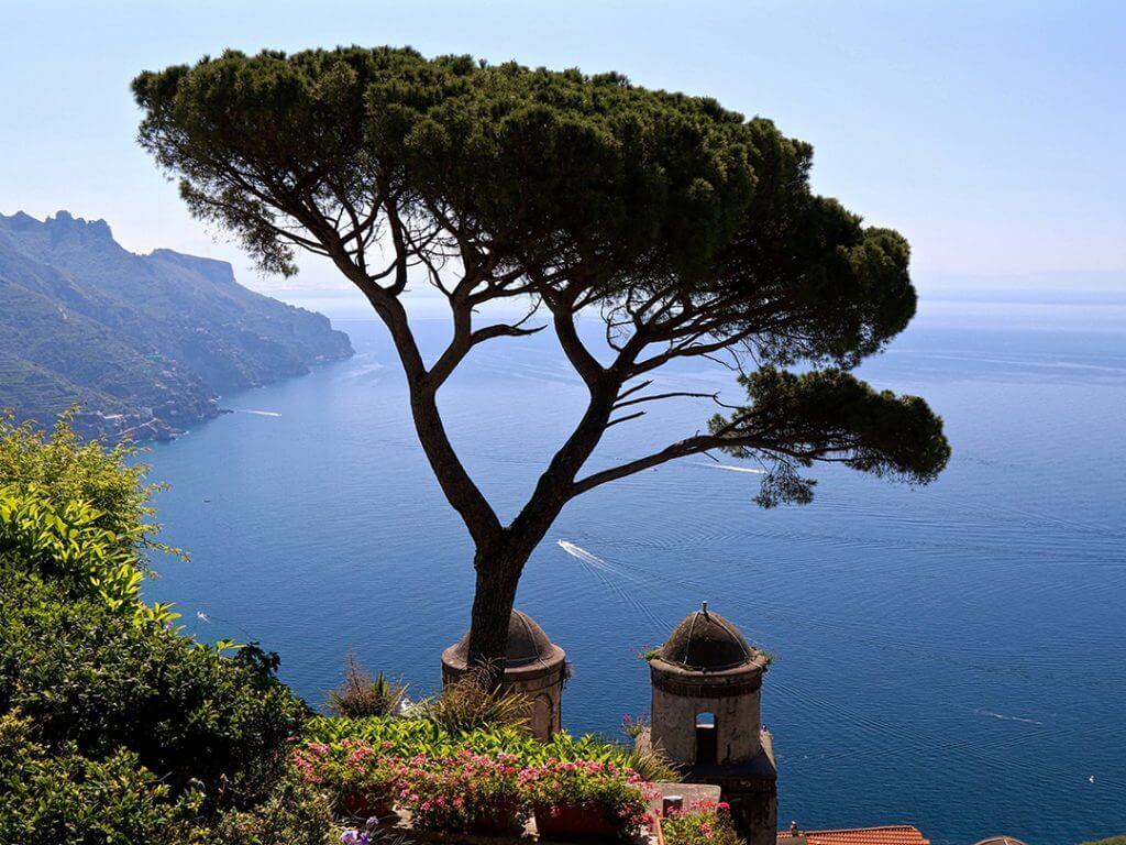 Villa Rufolo Gardens Ravello Amalfi Coast Italy Carol Ketelson Delectable Destinations Culinary Tours
