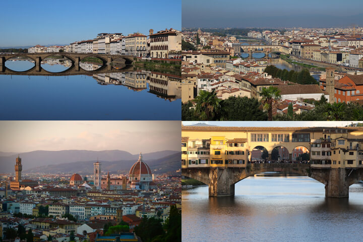 losing-yourself-in-florence-ponte-vecchio-the-arno-river-panaoramas-of-florence-carol-ketelson-delectable-destinations-Going Off Grid Florence Italy