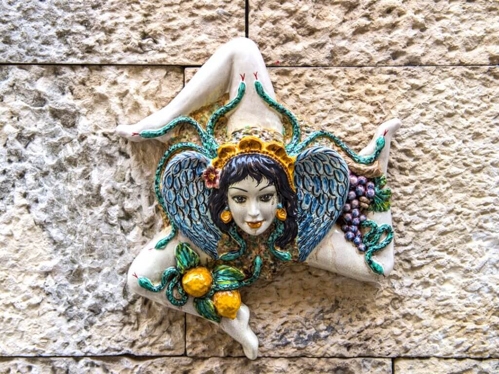 Sicilian Medusa Ceramic Art Delectable Destinations and Amalfi Life Amazing Sicily Culinary Tour