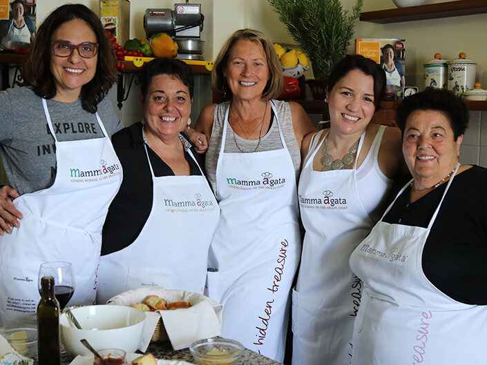 Cooking Class Mamma Agata, Ravello, Amalfi Coast, Delectable Destinations Carol Ketelson Sometimes RETREAT Is The Best Way To Move Forward
