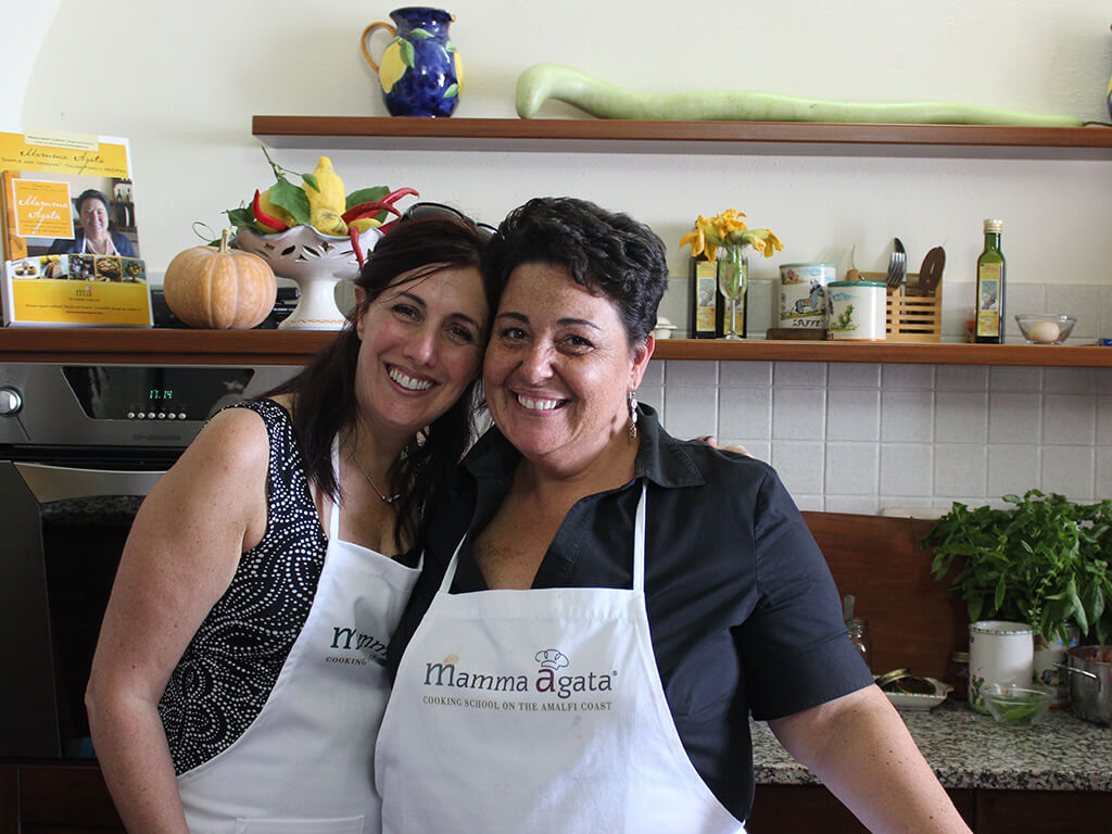 Cooking day at Mamma Agata Ravello Amalfi Coast Delectable Destinations Tour Carol Ketelson Jodie's Blog
