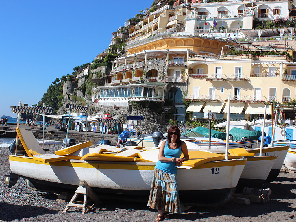Positano Amalfi Coast Delectable Destinations Tour Carol Ketelson Jodie's Blog