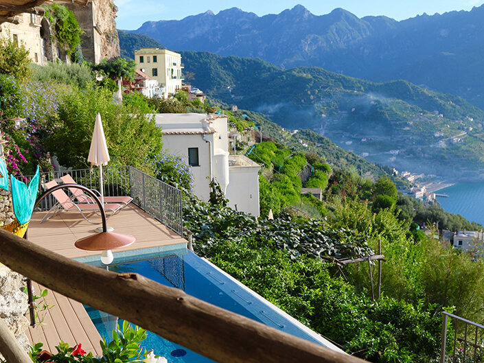 Villa San Cosma, Ravello Amalfi Coast, Delectable Destinations Tour, Carol Ketelson Sometimes RETREAT Is The Best Way To Move Forward Retreat Move Forward blog