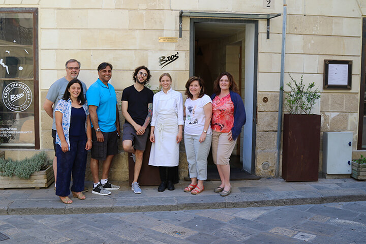 Bros' Restaurant in Lecce, Puglia - Capturing 2017 Carol Ketelson Delectable Destinations