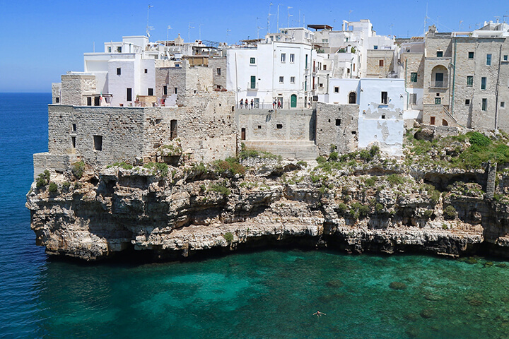 Tour of Polignano a Mare, Puglia - Capturing 2017 Carol Ketelson Delectable Destinations