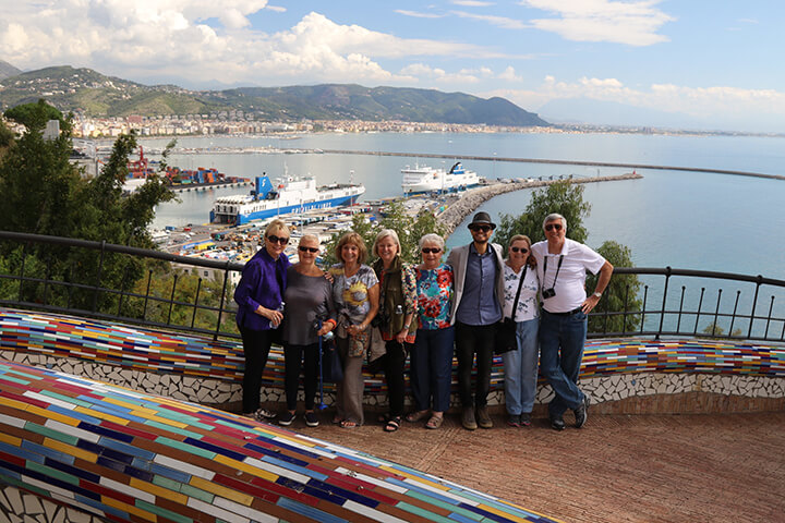 Private small group tour of Vietri sul Mare Amalfi Coast Italy - Capturing 2017 Carol Ketelson Delectable Destinations