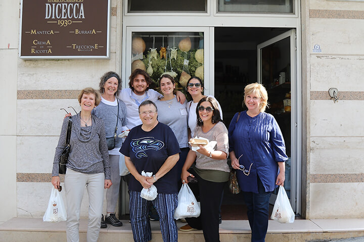 Delicious cheese tastings at Dicecca Caseificio, Puglia - Capturing 2017 Carol Ketelson Delectable Destinations