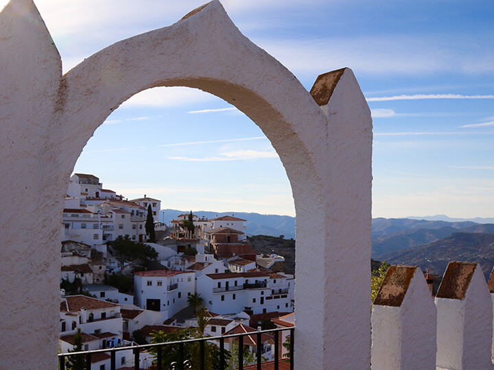 Pueblo Blanco, Comares, Spain, Photos that will get you packing to Andalucia, Spain - Carol Ketelson, Delectable Destinations