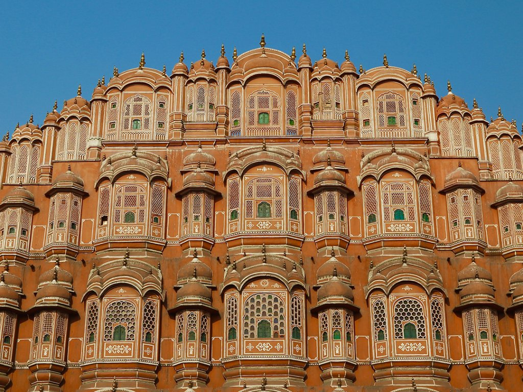 Wind Palace, Jaipur, India - Carol Ketelson Delectable Destinations Culinary Tours