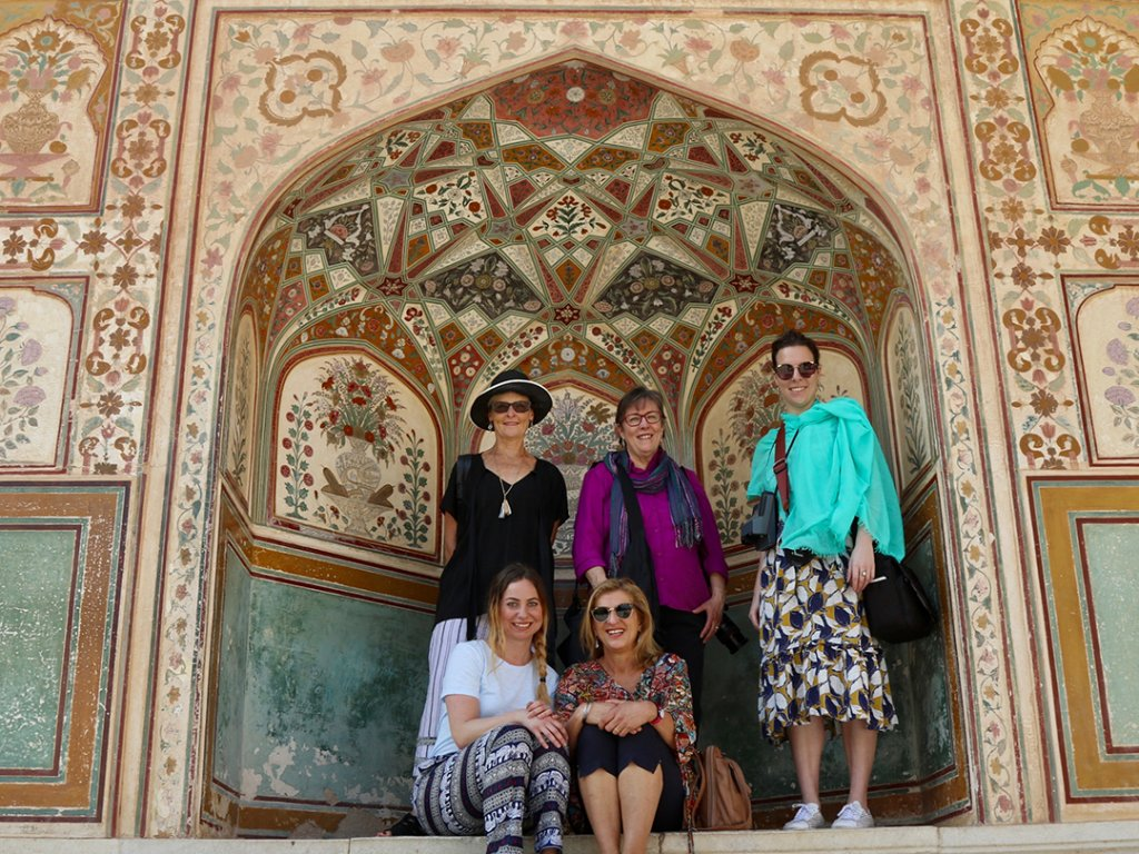 Amber Fort in Jaipur, India - Carol Ketelson Delectable Destinations Culinary Tours