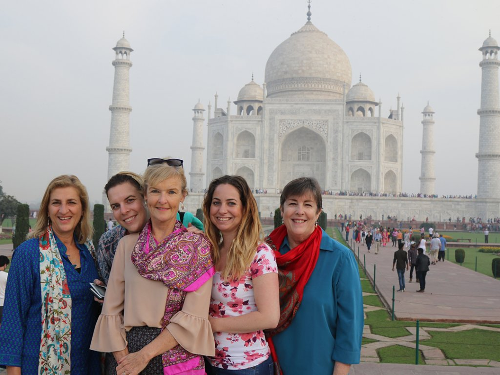 Taj Mahal, Agra, India - Carol Ketelson Delectable Destinations Culinary Tours