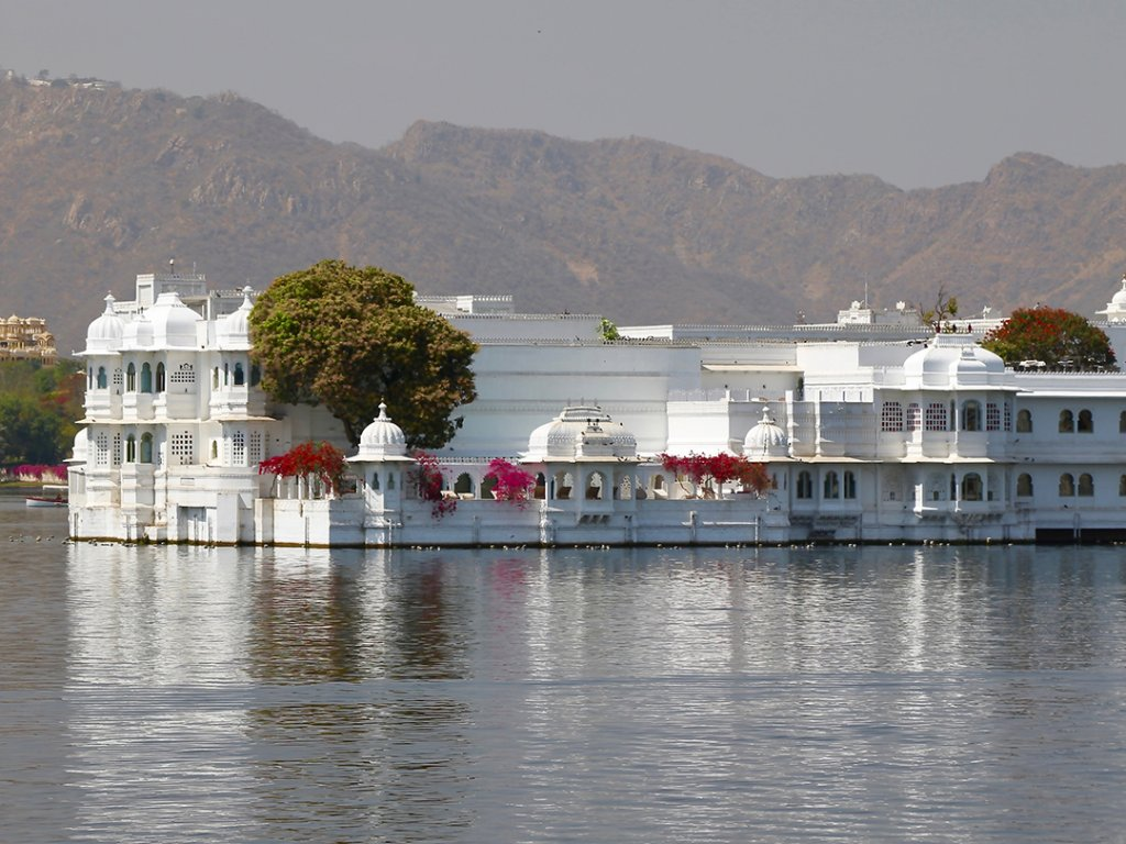 Luxurious Taj Lake Palace, Udaipur, India - Carol Ketelson Delectable Destinations Culinary Tours