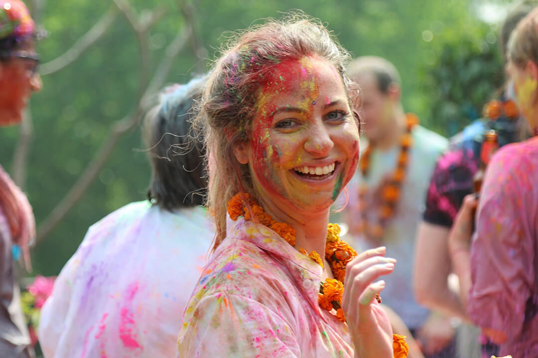 Colors of the Festival of Holi, Carol Ketelson, Delectable Destinations