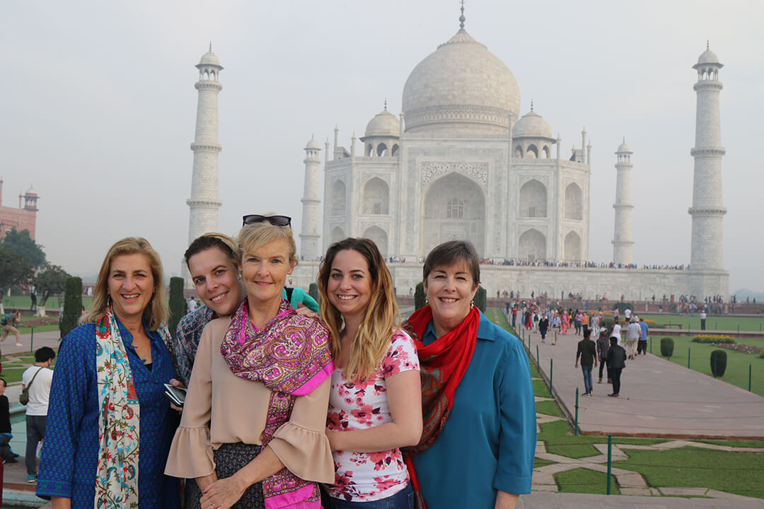 The Taj Mahal, Agra, India, Carol Ketelson, Delectable Destinations