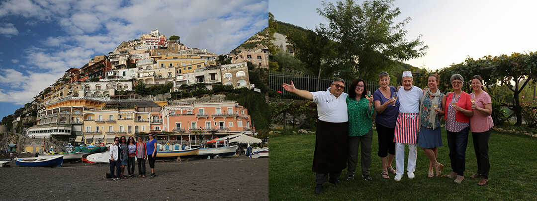Amalfi Coast Culinary Tour 3 - Welcome 2020 - Delectable Destinations - Carol Ketelson