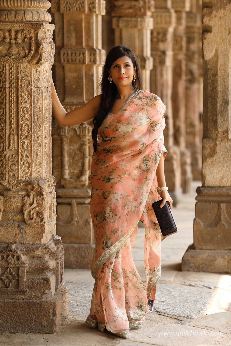 Flower Saree, The Timelessness of the Classic Indian Saree, Delectable Destinations